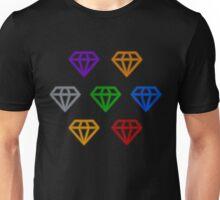 Neon Chaos Emeralds Unisex T-Shirt