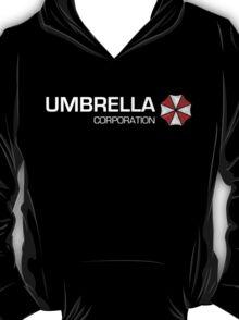 Umbrella Corps - White text T-Shirt