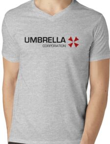 Umbrella Corps - Black text T-Shirt