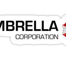 Umbrella Corps - Black text Sticker