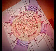 Temple plan...quick sketch by terezadelpilar~ art & architecture