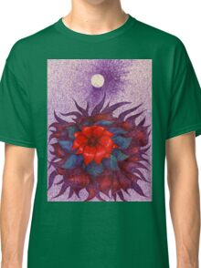 Space Flower Classic T-Shirt