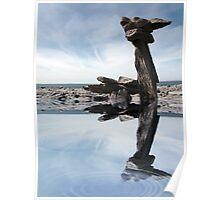 standing stones on the burren Poster