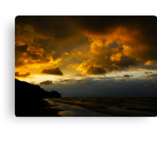 Natures Lightshow Canvas Print