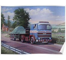 Lloyds of Ludlow Scania. Poster
