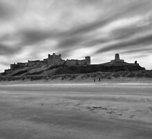 Bamburgh Castle by Darren Sharp