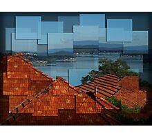 Warners Bay - Hockney style Photographic Print