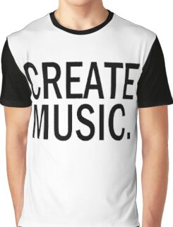 Austin Carlile Create Music Graphic T-Shirt
