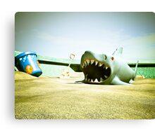Summer Sand Box Fun 01 Canvas Print