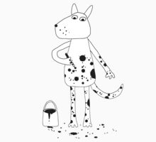 Dalmatian? One Piece - Short Sleeve