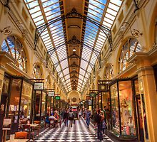 SHOPPING IN MELBOURNE by FLYINGSCOTSMAN
