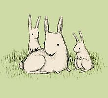 Bunny Family by Sophie Corrigan