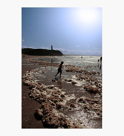 storm foam paddler Photographic Print