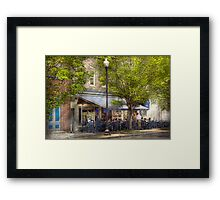 Cafe - Albany, NY - Victory Cafe Framed Print
