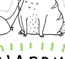 Happy Caturday - Ginger Cat Sticker