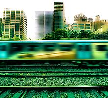 The 16:17 Rush - Melbourne Style by Paul Louis Villani