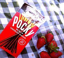 Pocky Picnic by Maraschino-Nine