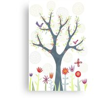 The Garden Canvas Print