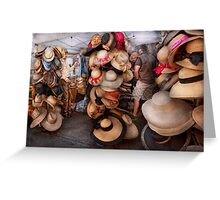 Storefront - The hat stand  Greeting Card