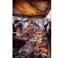 Storefront - The open air Tea & Spice market  Photographic Print