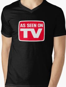 COOL TV Mens V-Neck T-Shirt