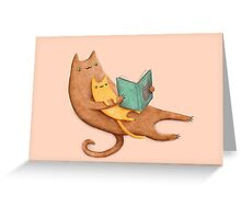 The Cat's Mother Greeting Card