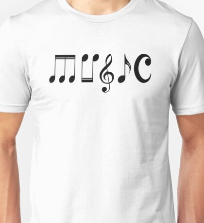 Music Logo  Unisex T-Shirt