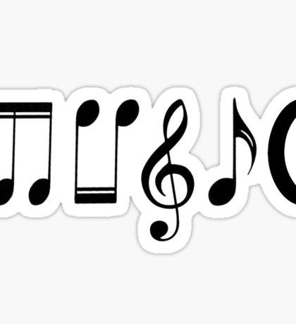 Music Logo  Sticker