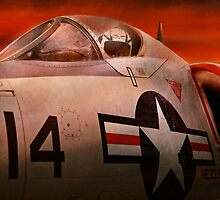 Plane - Pilot - Airforce - Go get em Tiger  by Mike  Savad