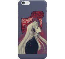 Megami iPhone Case/Skin