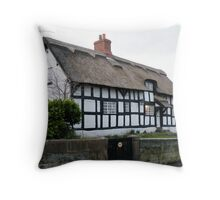 Bunbury Cottage Throw Pillow