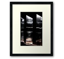 3 Monoliths looking for KuBricK ....... Framed Print