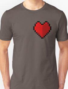 Pixel heart - I love retro T-Shirt