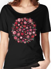 Summer Flowers Women's Relaxed Fit T-Shirt