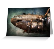 Plane - Pilot - The flying cloud  Greeting Card