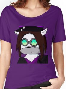 me in Pyrovision goggles Women's Relaxed Fit T-Shirt