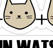 Jawn is made of jam, kittens and rage Sticker