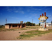 Route 66 Cafe Photographic Print