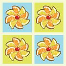 Citrus Pinwheel by mogencreative