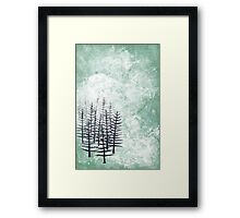 January Framed Print
