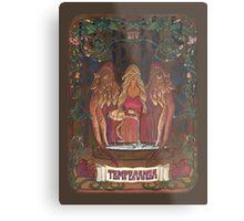 La Temperanza (Temperance, tarot card) Metal Print