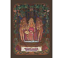 La Temperanza (Temperance, tarot card) Photographic Print