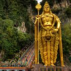 Statue of Murugan by Adrian Evans