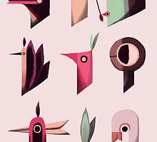 Odd birds by MillywiggZ