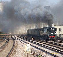 34067 'Tangmere' at Vauxhall, London by Ian Ware