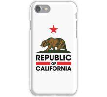 Republic of California iPhone Case/Skin