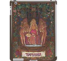 La Temperanza (Temperance, tarot card) iPad Case/Skin