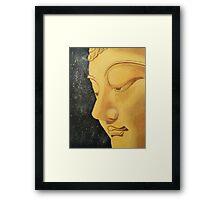 buddha peace. Framed Print