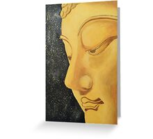 buddha peace. Greeting Card