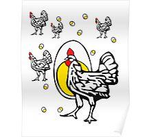 Roseanne Chicken Poster